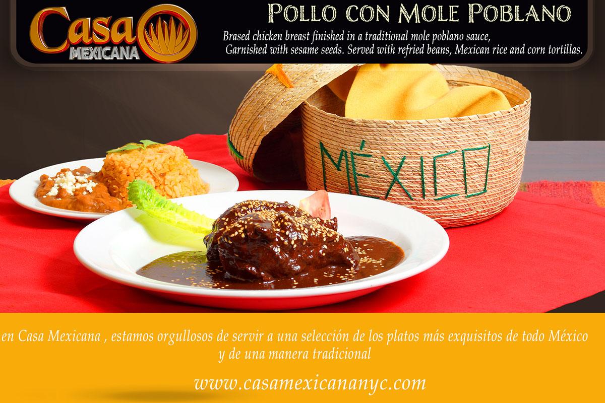 casa mexicana mole poblano