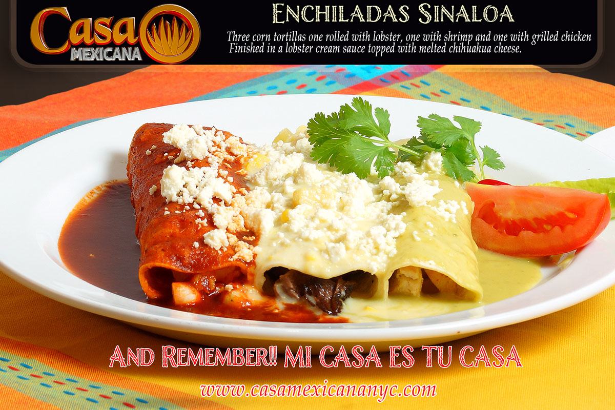 casa mexicana enchiladas sinaloa