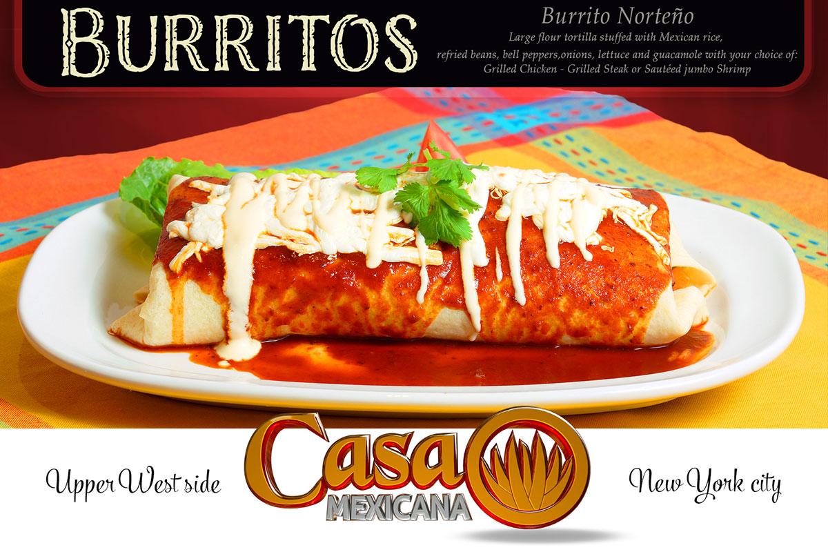 casa mexicana burritos