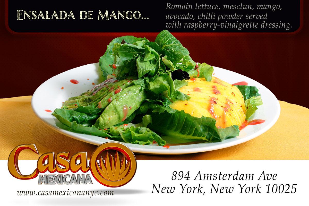 casa mexicana mango salad